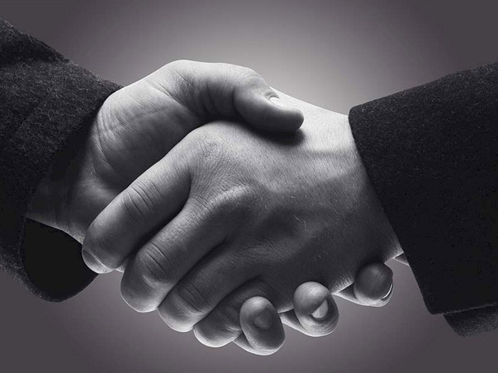 hand shake goodwill ambassador