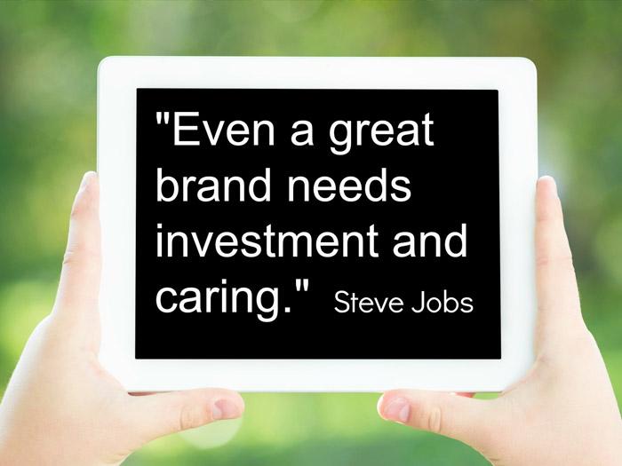 Steve Jobs on Branding