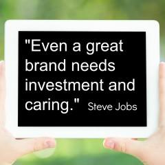 Apple: Steve Jobs Talks Branding