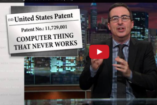 HBO's John Oliver on Patent Trolls