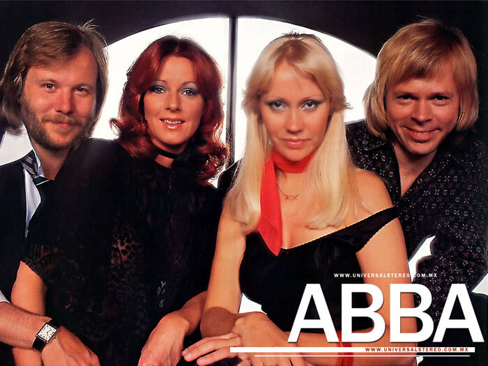 ABBA trademark for artist name