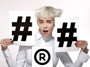 How to trademark a hashtag
