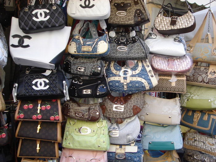 Fake purses counterfeit human trafficking
