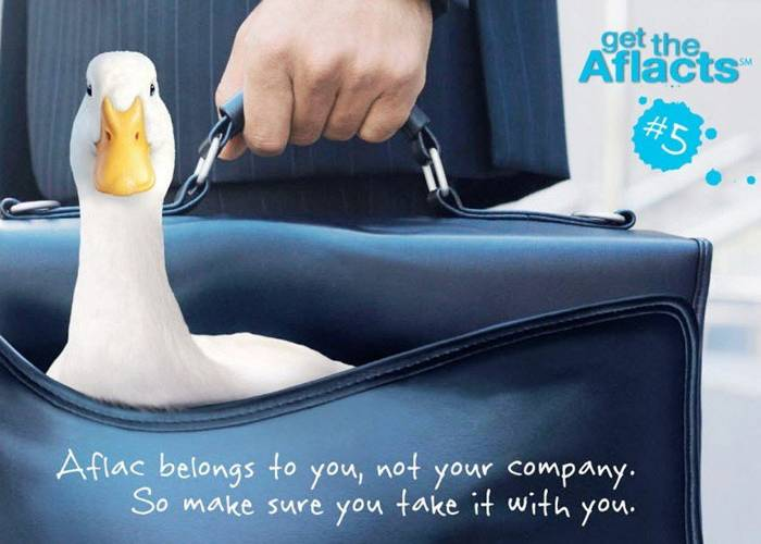 AFLAC Quacker Drives a Brand to Fame & Fortune