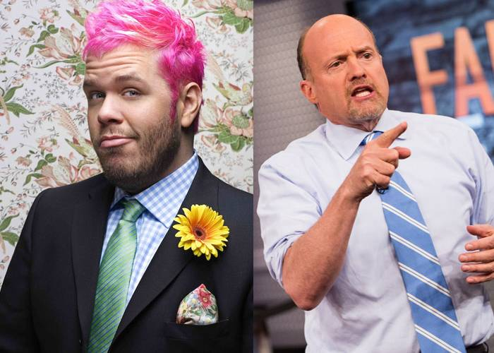 Perez Hilton & Jim Cramer: Related?